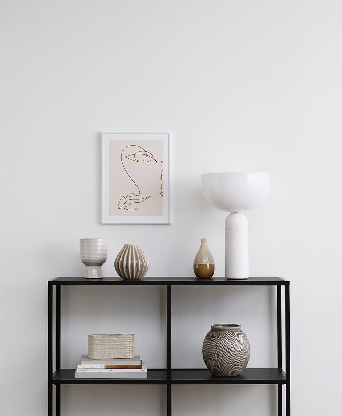 LouLou Avenue, Sunset Vibes - White alu frame