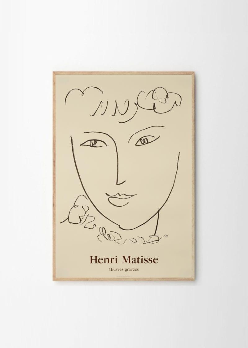 Gallerie Maeght - Matisse, La Pompadour, 1951