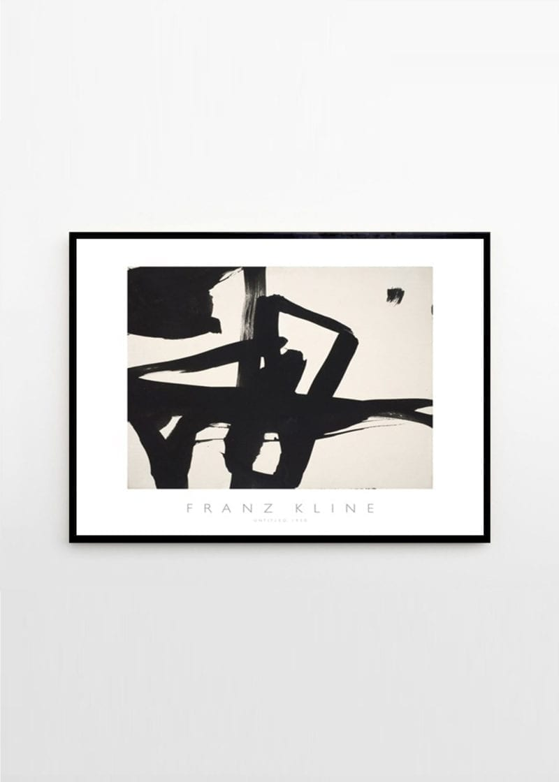 Franz Kline - Untitled 1950