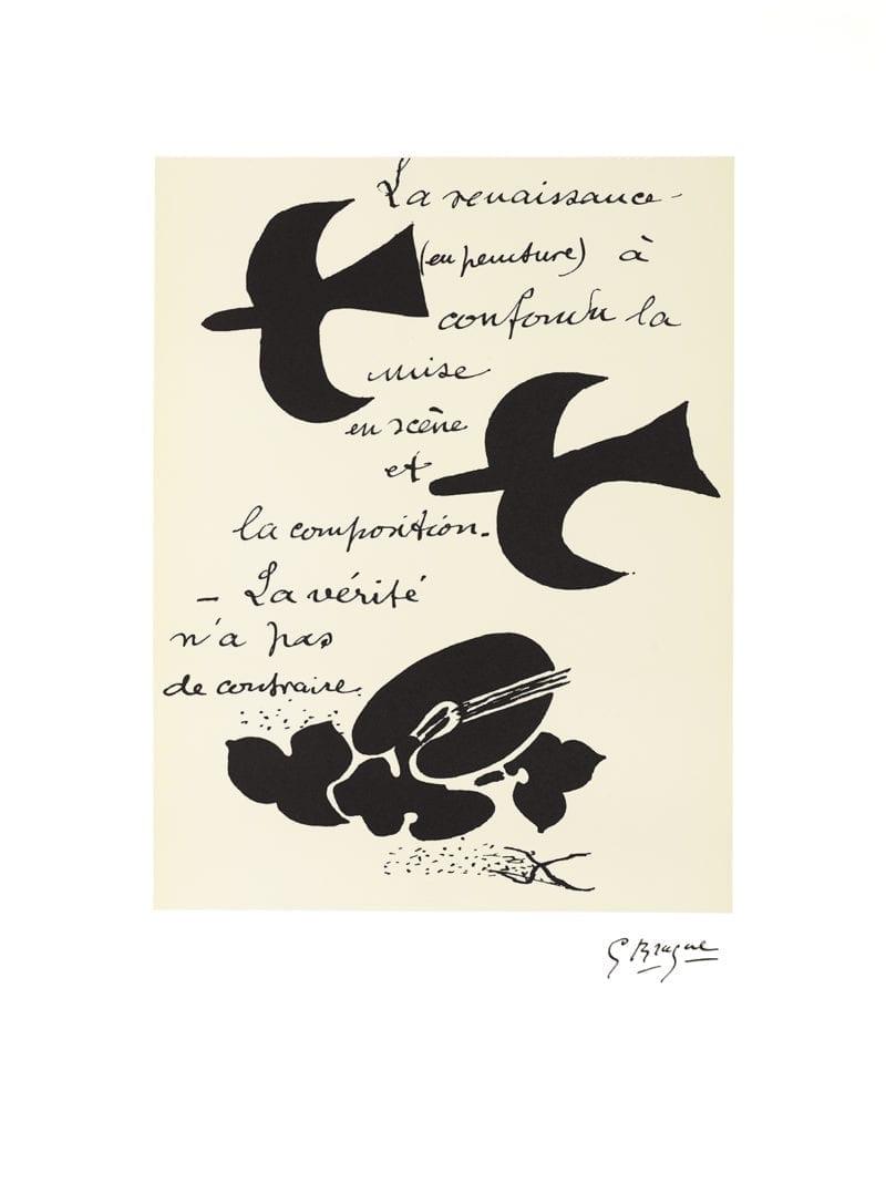 Braque Cahiers - La Naissance