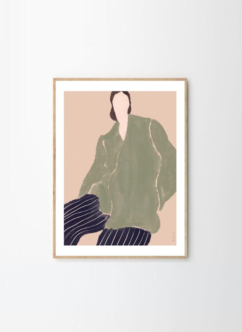 Kvinde I Grøn