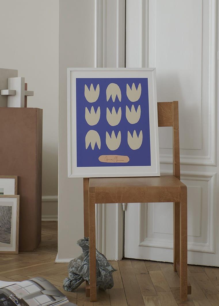 Anna Mörner - Blue Tulips